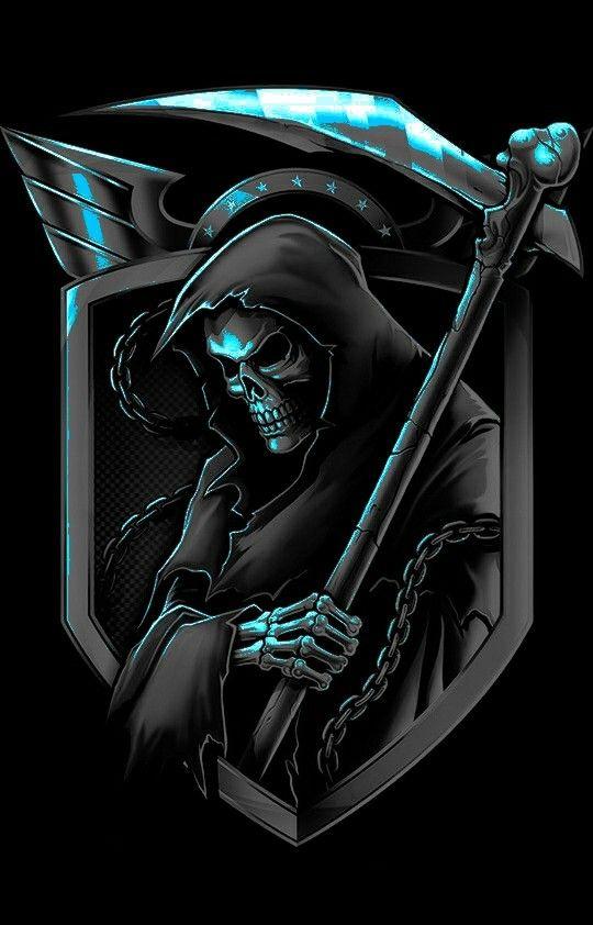 carta da parati in carta | mediterranea di fornasetti prodotta da cole and son wallpaper. Pin Di Santos Famayt Su Grim Reaper Logo Del Gioco Logo Artistico Loghi