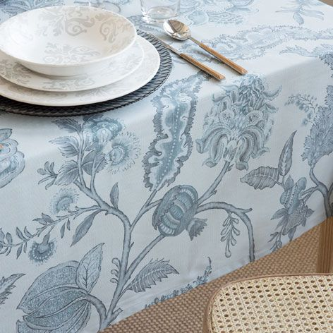 Pastoral print cotton napkin and tablecloth tablecloths for Zara home manteles mesa