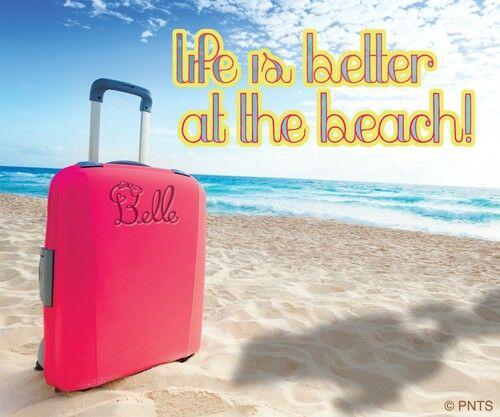 Hasta Belle lo sabe,  en el mar la vida es más sabrosa!