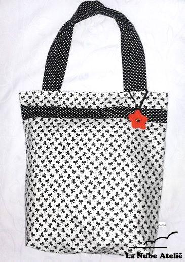 Bolsa de tecido. Bag