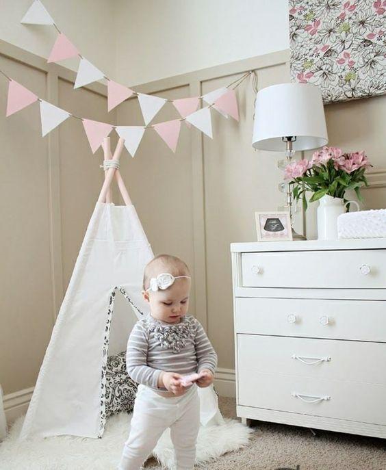 babyzimmer ideen babyzimmer gestalten babyzimmer mädchen | Baby ...
