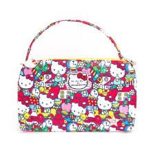 Ju-Ju-Be Be Quick in Hello Kitty Tick Tock * a practical carry all diaper clutch bag. It's my favorite Ju-Ju-Be accessory. It can also be used as a make up bag, clutch or use it for those items that need quick grabs. You can never have too many Be Quick's.
