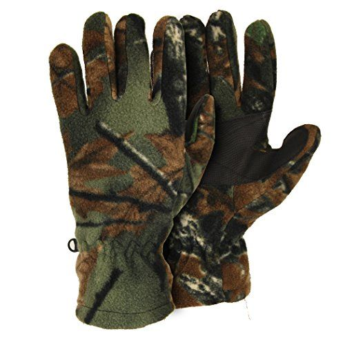 Camouflage Fleece Hunting Winter Gloves     #Camouflage, #Fleece, #Gloves, #Hunting, #Under25, #Winter