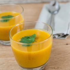 Wortelsoep met curry, kurkuma en koriander - Dille & Kamille   't is zomer!