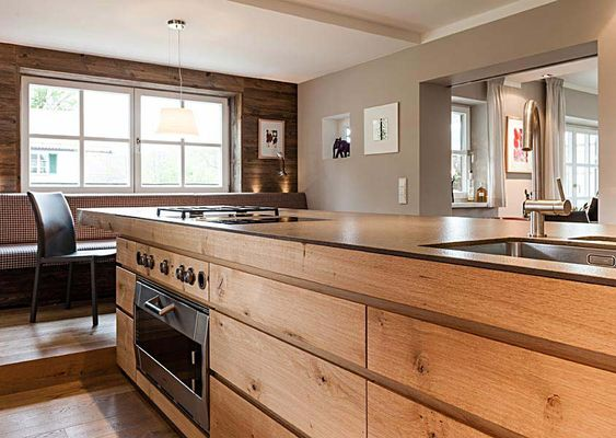 Landhaus tegernsee kitchen i k che pinterest for Wohndesign tegernsee