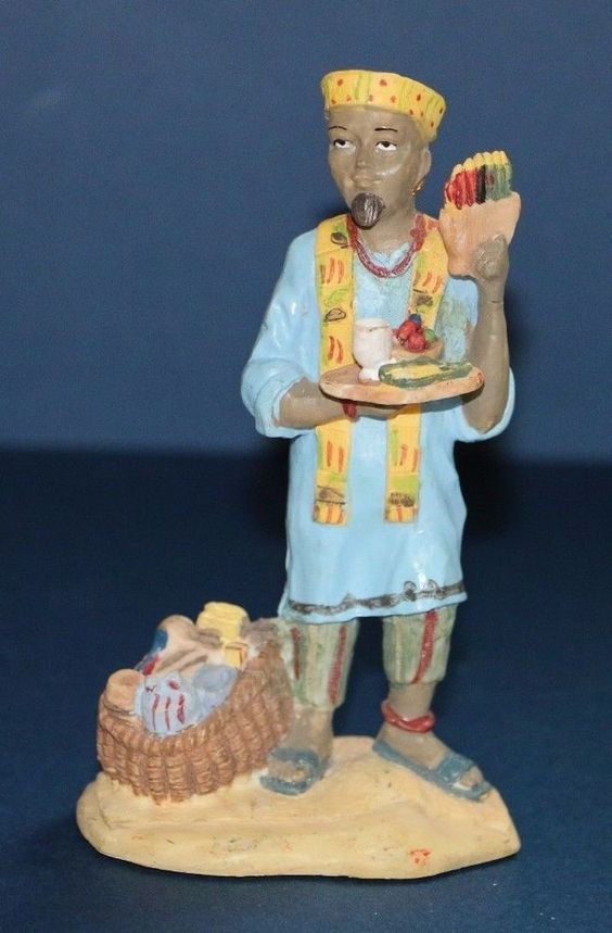 "International Santa Claus Collection Kwanzaa Africa 5"" Figurine #babescollectibles"