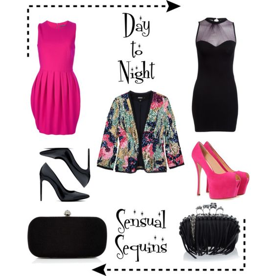 Day to Night Sensual Sequins