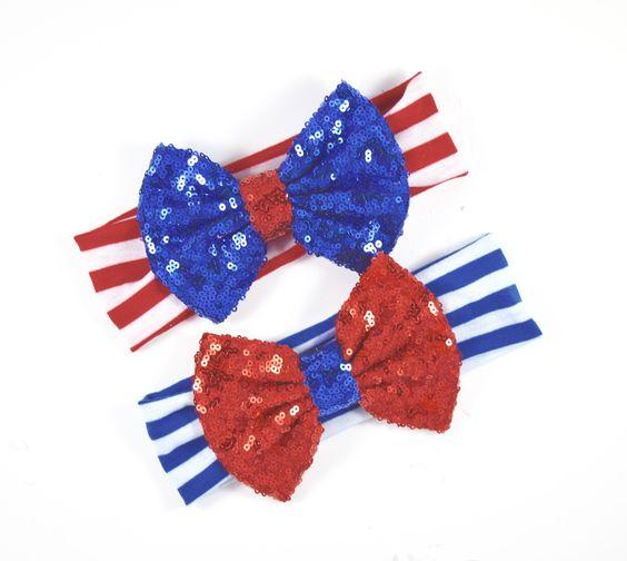 Liberty- Fourth of July Headband