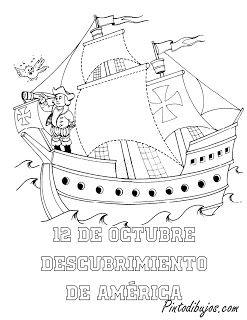 Descubrimiento De America Viajes De Colon Cristobal Colon Para Ninos Dia De La Hispanidad