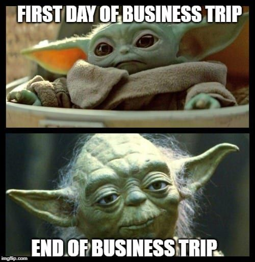 These Are Not The Baby Yoda Memes You Are Looking For About Travel Yoda Meme Memes Yoda