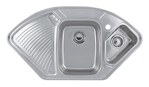 Astracast Lausanne 1 5b Top Mount Kitchen Sink Corner Corner Stainless Steel Kitchen Sinks Top M Top Mount Kitchen Sink Stainless Steel Kitchen Sink Sink Top