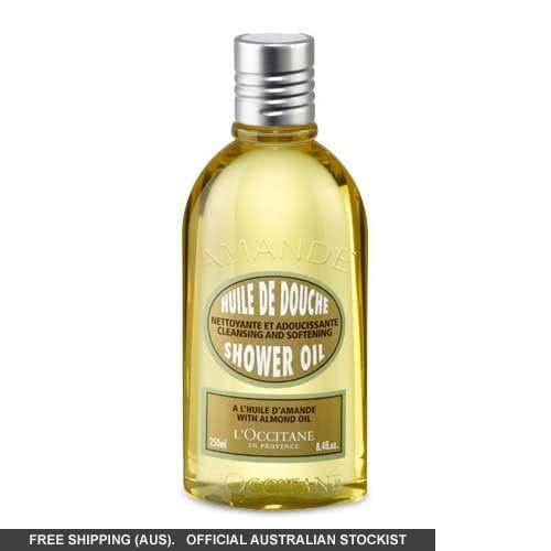 L Occitane Almond Shower Oil 250ml 250ml Cleansing Oil Shower