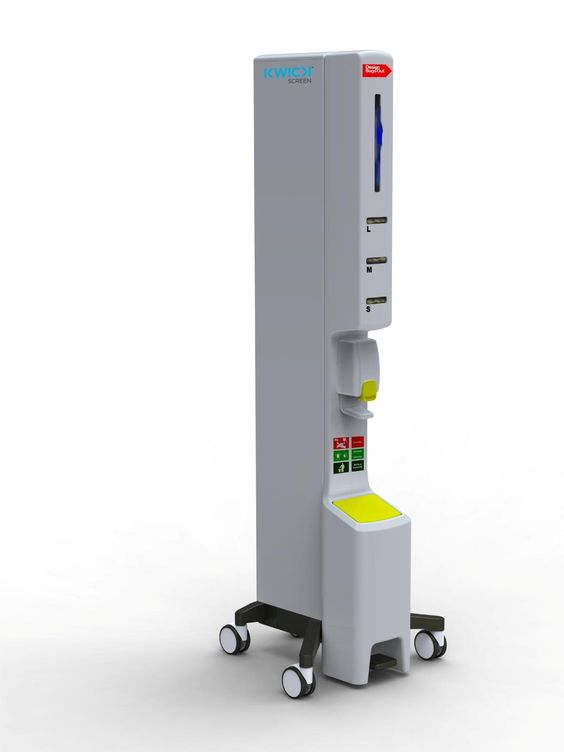 KwickScreen is a portable, retractable, room divider which provides isolation or privacy solutions in hospitals when required. They have a very small footprint for easy storage and use and are simple to transport and clean.