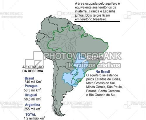 Rio Parana Brazil Location Map PHOTOVIDEOBANK Paraná River At - World map parana river