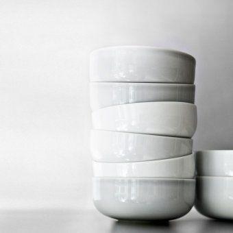 Schale New Norm 17,5 cm weiß