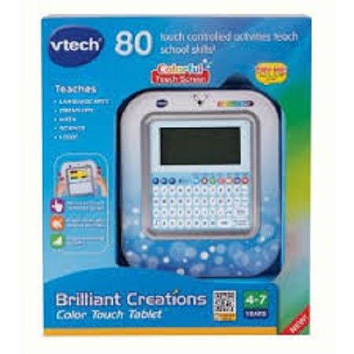 Vtech Brilliant Creations Color Touch Tablet, Brand New in Sealed Retail Box! #VTech