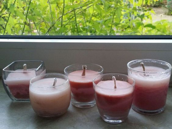 Kerzen mit Docht selber machen