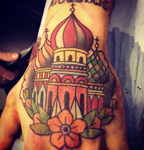 I'd like those castles incorporated into my tattoo.