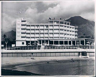 """""""Gran Hotel El Palmar near Macuto,"""" 1949"""