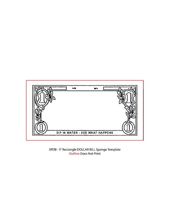 dollar certificate template - dollar bill template for kids pinterest dollar bills