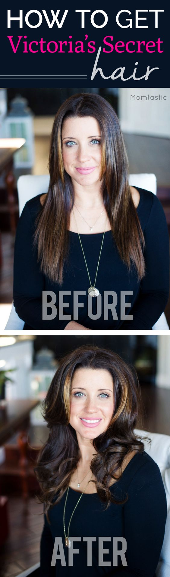 How to get Victoria's Secret model hair! I love this big, bouncy, curly hairstyle :) it also lasts way longer than a blowout.