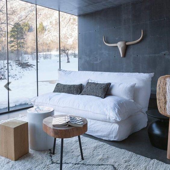 Bonne soirée ❤️ #love #deco #decoration #interior #interieur #scandinave #decoscandinave #cocoon #cocooning #cosy #love #ootd #picsoftheday #ootd #trophee #bois #wood