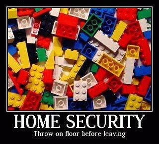 HAHA - Lego Home Security