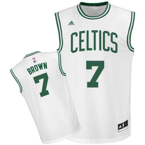 826ff677c ... Green Jersey 2016 Draft Pick Boston Celtics 1 Jaylen Brown White Home Swingman  Jersey Pinterest 2016 draft