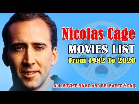 nicolas cage new movie 2020
