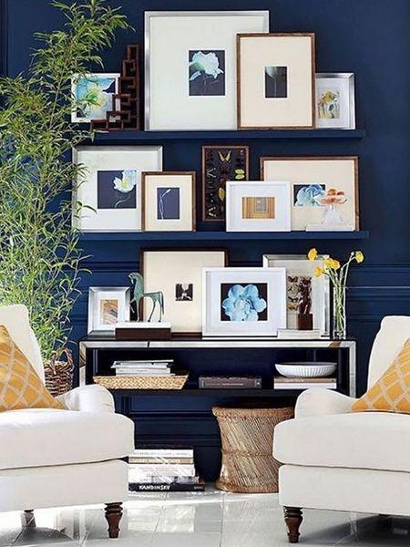 Gallery Wall: einfach hingestellt