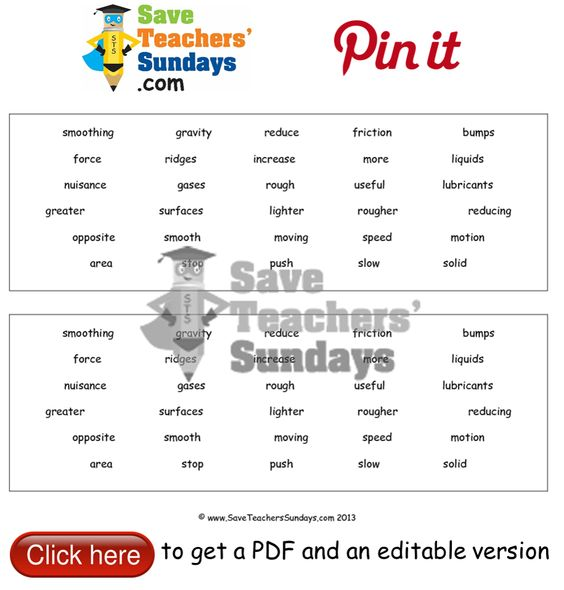 Friction worksheet fill in the blanks from videos Go to http – Friction Worksheet