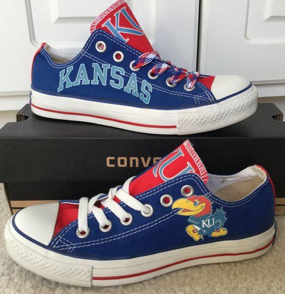 Kansas Jayhawks Converse Shoes
