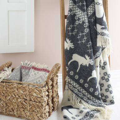 Three gorgeous woollen blankets to be won!