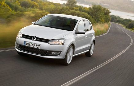 Volkswagen Polo, 2011 Cheap economy class local rental cars from 26.00 euros per day in Riga, Latvia