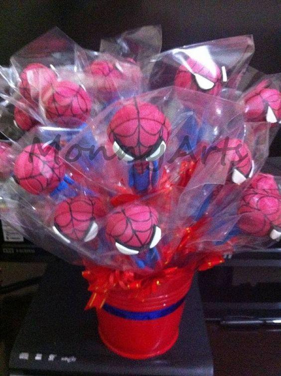 Mais uma remessa de Ponteiras Spiderman!!!!!!!!! :D