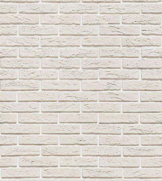 Papel de parede modelo tijolos, em tons de bege, com detalhes em cinza - Textura 41