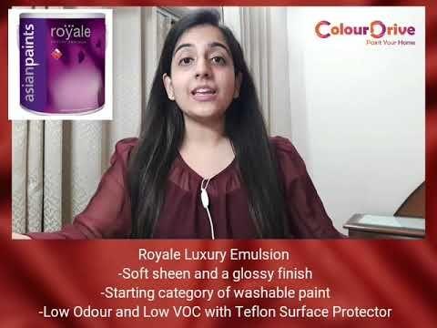 Comparison Between Interior Paints Tractor Vs Premium Vs Royale Colo Washable Paint Asian Paints Painting Services