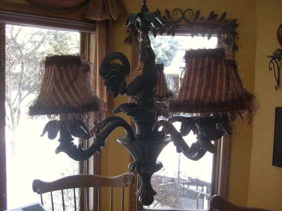 Pinterest The worlds catalog of ideas – Rooster Chandelier