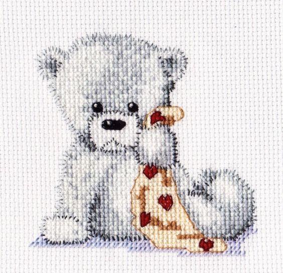 names baby cross stitch patterns stitching cute bears bears stitch ...