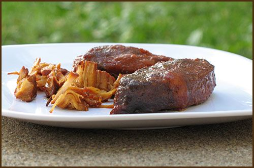 Slow Cooked Pork with Orange Marmalade