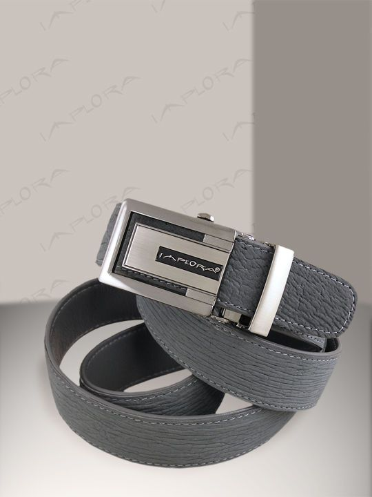 Shark Skin Belt ## Gray ## Genuine Sharkskin #implora