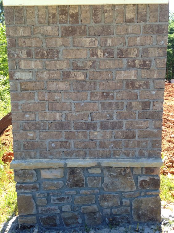 Brick Marshton Mortar Gray Exterior Ideas Pinterest Bricks And Gray