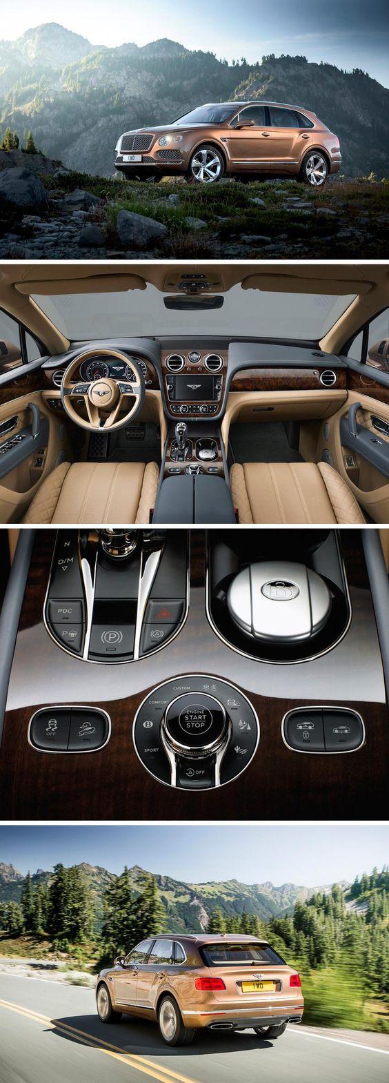 The Bentley Bentayga SUV is a fast, luxurious, tech-savvy SUV
