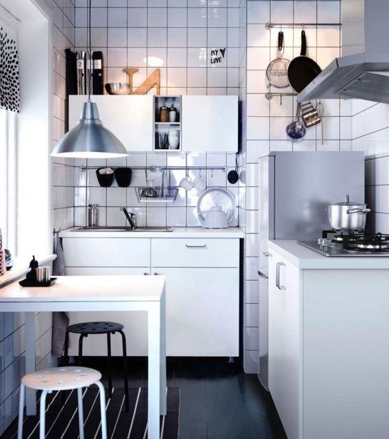 Am nagement petite cuisine le guide ultime cuisine - Amenagement petite cuisine ikea ...