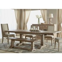 """Rectangle 63"""" Length Rustic Java Large Dining Bench"""