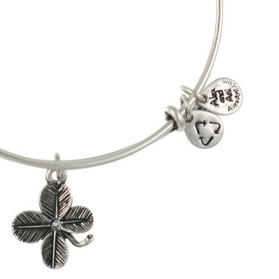 Luck | Fortune | Prosperity    The ultimate omen of good luck, finding a four leaf clover will bring good fortune to its finder. According to tradition, each leaf represents the virtue of faith, love, hope, and luck. Wear the Lucky