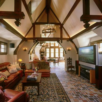 English cottages and ceilings on pinterest for German cottage house plans