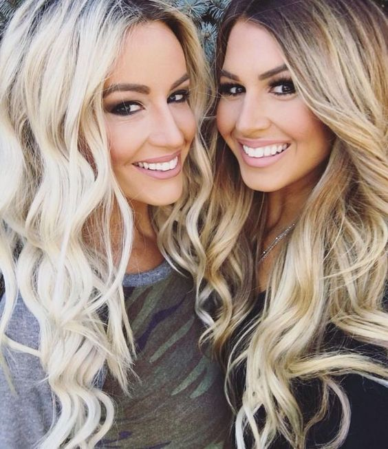 blondes hair and bffs on pinterest