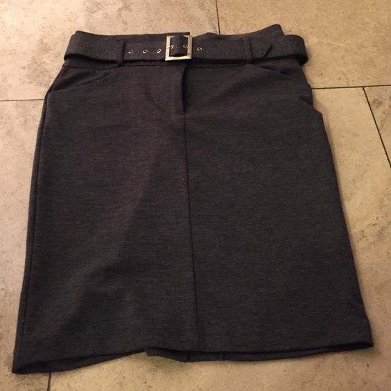 Grey skirt. Size large 6/8 Grey skirt size large 6/8. Never worn. Great condition Skirts