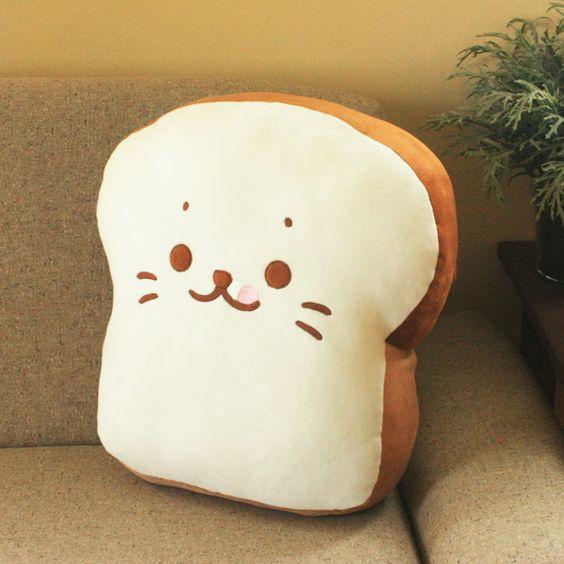 しろたん食パンに変身クッション sirotan